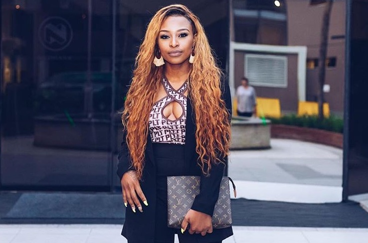 DJ Zinhle is not about the rumours or negative hate.