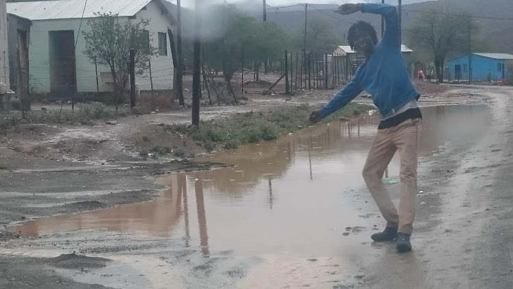 Residents of Graaff-Reinet were overjoyed after recent rainfall in the town.