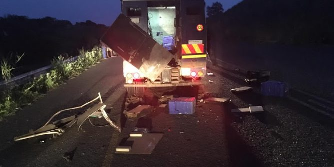 A cash-in-transit vehicle was attacked outside Richards Bay on Monday.