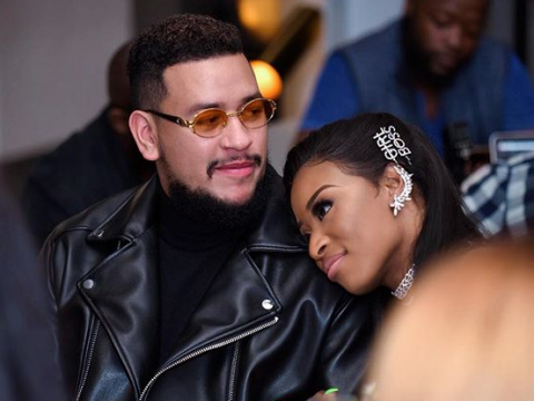 AKA confirmed that he had split from DJ Zinhle.