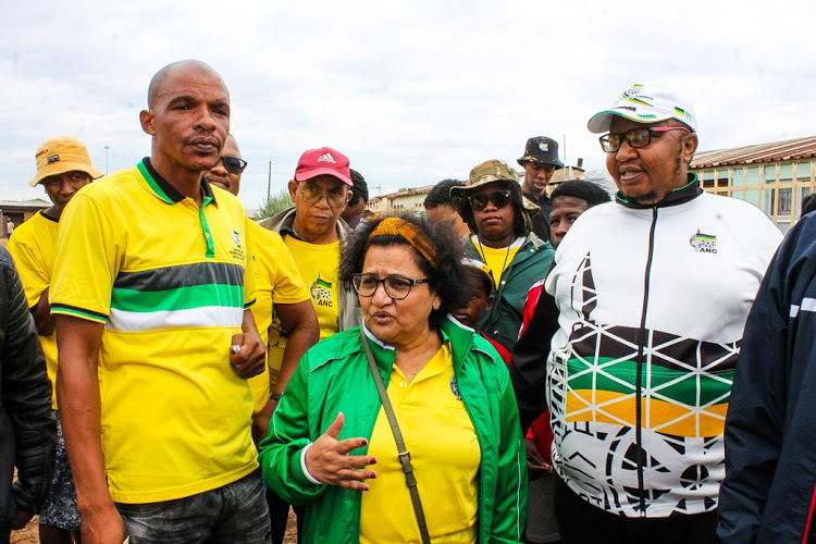 ANC deputy secretary-general Jessie Duarte and NEC member Mondli Gungubele visited Galeshewe ahead of the party's January 8 event in Kimberley. Duarte used the opportunity to lash out about infighting in the party.