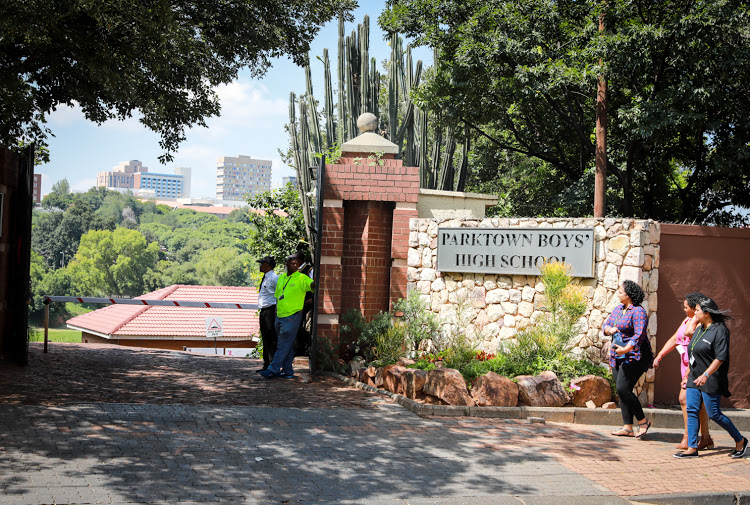 A grade 8 pupil from Parktown Boys' High School died during a school orientation camp.