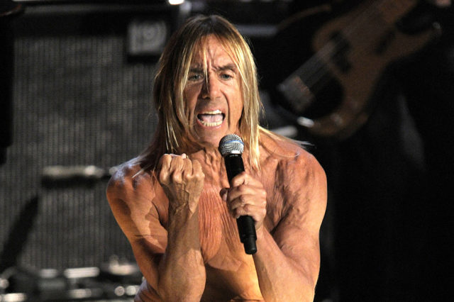 Iggy Pop at 25th Rock &  Roll Hall of Fame Induction Ceremony
