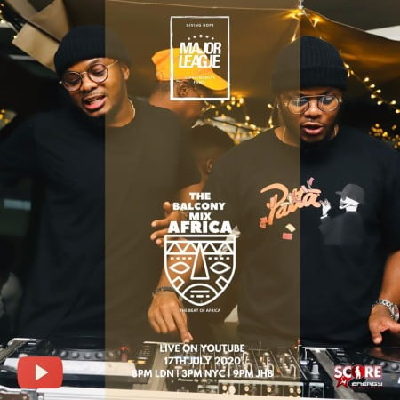 Major League – Amapiano Live Balcony Mix 24