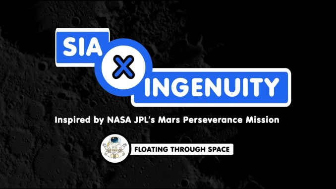 Sia x Ingenuity Floating Through Space MP3 DOWNLOAD