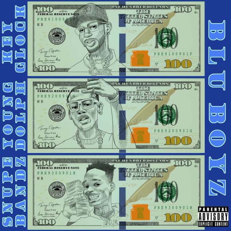 Young Dolph & Key Glock, Paper Route Empire Ft. Snupe Bandz - Blu Boyz